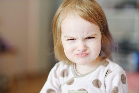 SINT OG STA? At barnet viser stahet er bra, mener ny studie.
