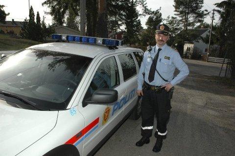 Dag Harald Drevsjø, forebyggende avsnitt ved Manglerud politistasjon.