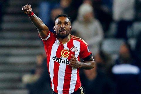 SLO GODT IFRA SEG: 2-0-målet til Jermain Defoe var nok til å holde unna for Leicester og sikre tre kjærkomne poeng for Sunderland