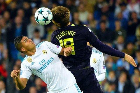 SE OPP! Manchester United legger ikke ut agn etter Tottenhams Fernando Llorente, men Real Madrids Casemiro er kanskje en mer attraktiv forsterkning?