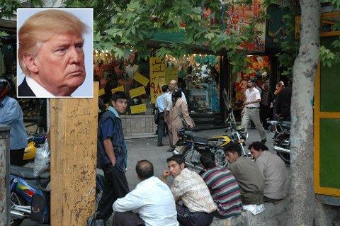 - Iranske fabrikkarbeidere streiker fordi de ikke har fått betalt på flere måneder og blir hensynsløs henvist til å søke jobb andre steder. Men media bryr seg bare om Donald Trump (innfelt).