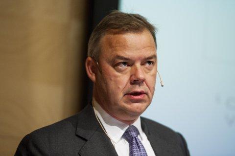 Storebrands konsernsjef Odd Arild Grefstad har i realiteten kun fastlønn. Den var i 2018 på 6,7 millioner kroner.