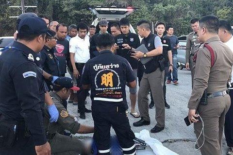 SIKTET: Faren er siktet for å ha drept sin to år gamle sønn ved å binde ham fast til barnevogna, og deretter drukte ham. Foto: Tourist Police Bureau