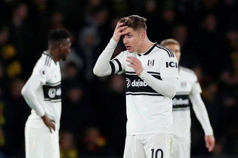 RYKKET NED: Tom Cairney og Fulham.