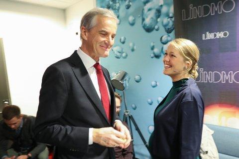 SER MOT 2021: Rødt-leder Bjørnar Moxnes frykter at en regjeringsallianse mellom Ap og MDG i 2021 kan gi en«elitistiske miljøpolitikk». På bildet Ap-leder Jonas Gahr Støre og MDG-talsperson Une Aina Bastholm i studio hos NRK.