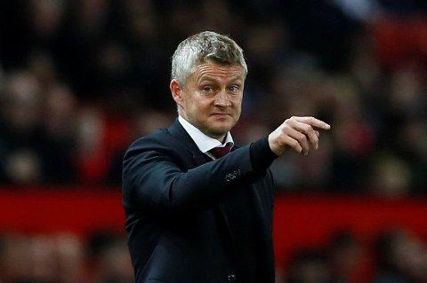 UNDER PRESS: Manchester United-manager Ole Gunnar Solskjær.