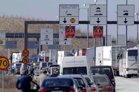 Danmarks regjering vil innføre grensekontroll mot Sverige. Illustrasjonsfoto: Patrick Persson / NTB scanpix