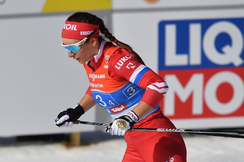 SPENNENDE: Den russiske langrennsløperen Natalija Nepryajeva.