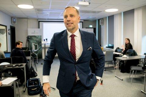 FORTSATT GOD VEKST I OSLO:Administrerende direktør Christian Vammervold Dreyer i Eiendom Norge spår 5 prosent boligprisvekst i Oslo neste år. Foto: Vidar Ruud / NTB scanpix