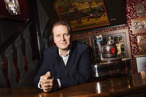 AASS-SJEF: Christian Aass er femte generasjons eier av Aass Bryggeri.