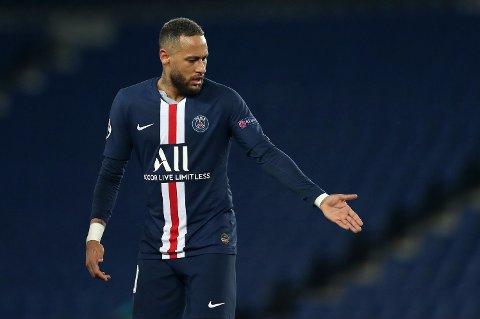GIR TIL VELDEDIGHET: Paris Saint-Germains brasilianske superstjerne Neymar.
