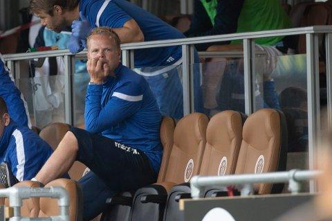 Kristiansund-trener Christian Michelsen.