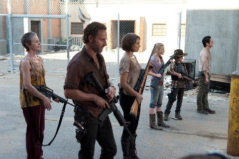 The Walking Dead er opprinnelig en tegneserie.