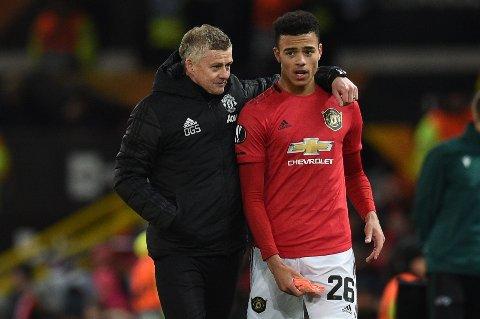 TALENT: Mason Greenwood er en av de mest lovende ungguttene Ole Gunnar Solskjær har til rådighet i Manchester United.