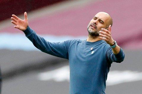 MANAGERBYTTE? Pep Guardiolas tid i Manchester City nærmer seg angivelig slutten.