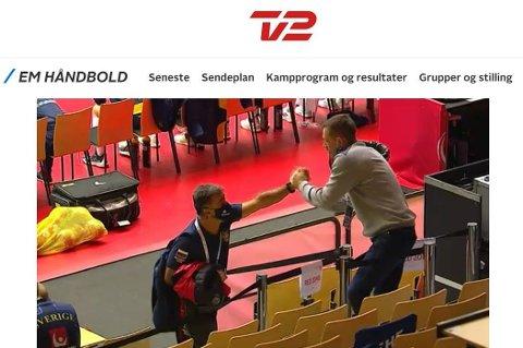 ÅPNER SAK: EHF åpner sak mot Russland-trener Ambros Martin etter at han brøt de strenge reglene under håndball-EM i Danmark.