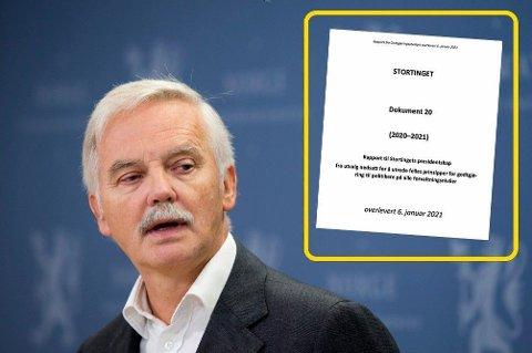 STORTINGSLØNN: SSB-direktør Ådne Cappelen ledet utvalget som har godkjent prinsippene for politikernes lønninger, eller godtgjørelse som de helst vil kalle det.