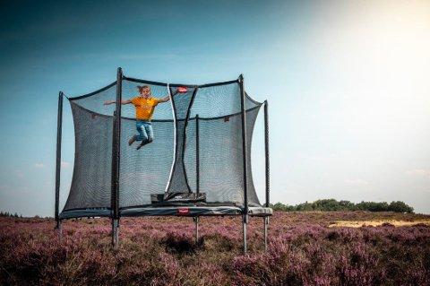 Snart er det trampolinesesong. Her får du kjøpt trampliner på nett.