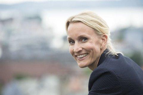 MYE OMTALE: Personmarkedsdirektør Randi Marjamaa i Nordea Norge kan glede seg over mye omtale i sosiale medier.