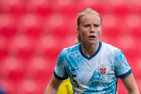 KANONSCORING: Julie Blakstad sendte RBK i ledelsen mot LSK Kvinner i lørdagens kamp.