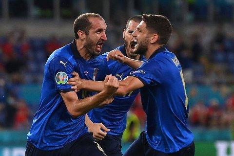 SYMBOLET: Giorgio Chiellini har vært godt i midtforsvaret til Italia så langt i EM. Nå håper han å stoppe Spania også.