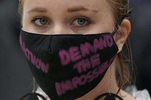 Extinction Rebellion har gjort seg bemerket med demonstrasjoner og aksjoner i flere europeiske byer. Bildet er fra en protest i London 22. august.