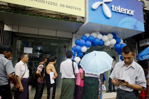 KRITIKK: Telenor har fått kritikk fra flere hold for å ha videresolgt selskapet Telenor Myanmar til et omstridt selskap.