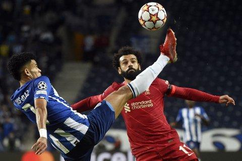 - FØLGES: Luis Diaz, her iduell med MOhamed Salah, skal være på radaren til LIverpool.