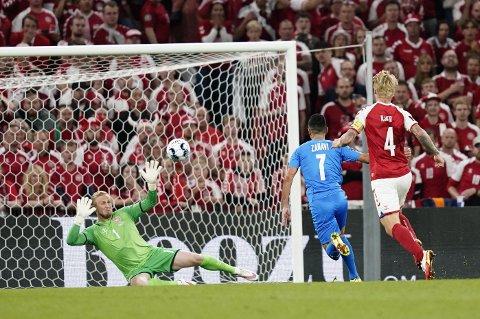 Keeperkjempe: Kasper Schmeichel har stengt buret i VM-kvalifiseringen