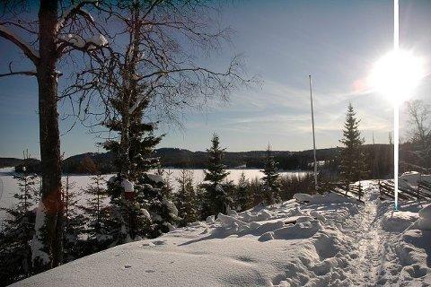 kan vinteren arte seg hele neste uke, bare litt varmere, skal vi tro Yr.no (Meteorologisk institutt). Her ser vi en vakker vinterdag ved Kikut nylig. Foto: Alexander Synstad