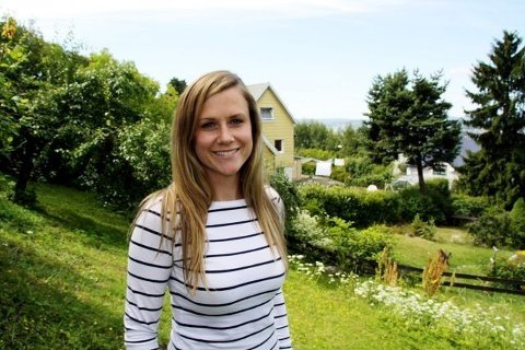Med sommerjobb i Global Internship Program har Ine Hope Karlsen (21) fra Høyenhall åpnet dørene for fremtidsdrømmen. Foto: Helene Falstad