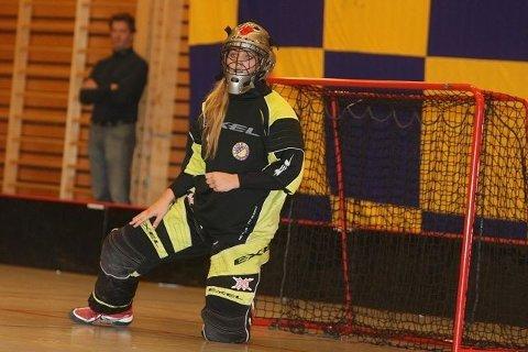 Best: Keeper Live Fosmark var utvilsomt hjemmelagets beste spiller mot Sveiva. Foto: Arild Jacobsen
