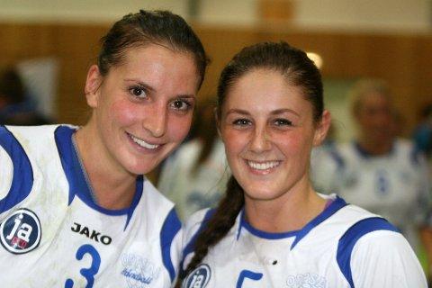 Smilet satt løst hos Senka Buljan (venstre) og Nerma Pandza etter cupkampen mot Vålerenga i fjor høst.