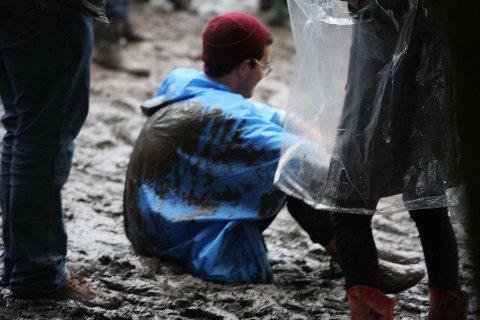 Selv med regn og gjørme var det en herlig stemning på Frognerbadet.
