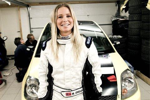 ENORM PRESTASJON: Marlene Engan savner å kjøre rally. Nå jakter Norges eneste kvinnelige rallysjåfør ny sponsor og bil.