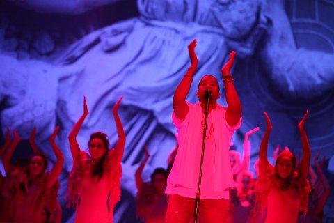 Kanye West hadde alle hitsene med seg i bagasjen da han besøkte Oslo og Øyafestivalen onsdag.