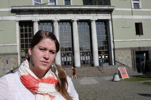 Torunn Kanutte Husvik (28) har bestemt seg for å delta på mandagens åpne fengslingsmøte.