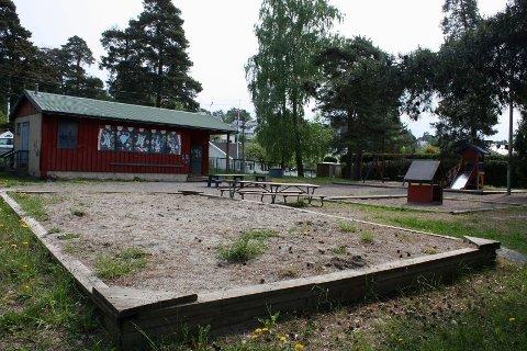 Kan bli barnehage: Solveien barnepark leies i dag ut til en privat familiebarnehage. Nå kan det bli omregulering og mulig bygging av en ny, stor barnehage på tomten. BU vil se forslaget i sammenheng med mulig avvikling av Sæter barnehage.
