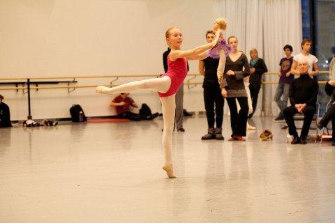 DRØMMEROLLEN: Heidi Cecilie Baastad Christiansen fra Bekkelaget trives best midt på gulvet. I år danser hun Clara i Nøtteknekkeren. ALLE FOTO: ØYSTEIN DAHL JOHANSEN