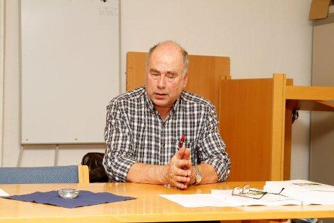 FORNØYD: Gruppeleder og BU-nestleder Steinar Andersen (AP) er fornøyd med bydelsdirektørens budsjettforslag.