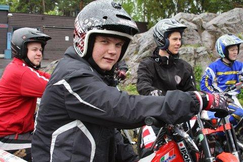 BEST: Nordisk mester Martin Karlsen (18) sammen med resten av gutta, klare for å imponere oslopolitikerne.
