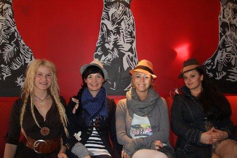 Solveig Heilo, Anne Marit Bergheim, Turid Jørgensen og Marianne Sveen.