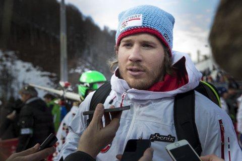 VAR SKUFFET: Kjetil Jansrud hadde håpet på bedre enn fjerdeplass.