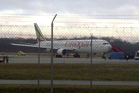 KAPRING: Flyet var på vei fra den etiopiske hovedstaden Addis Abeba til Roma i Italia, men fortsatte forbi Roma og satte i stedet kursen mot Sveits.
