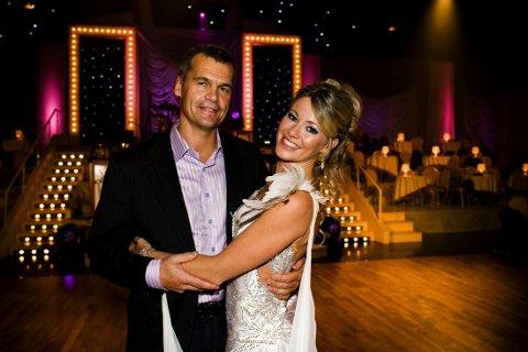"""Siri Kalvigs ektemann Kjell-Erik Østdahl tjente bedre enn de fleste i perioden 2011 til 2013. Her er paret fotografert under TV-programmet """"Skal Vi Danse"""" i 2008."""