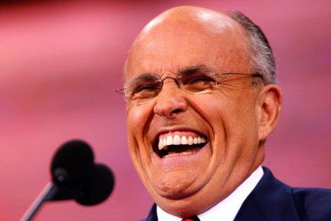 Tidligere borgermester av New York og presidentkandidat Rudy Giuliani.