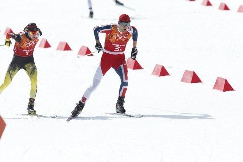 BESTE NORSKE: Jørgen Graabak ble beste norske på en 7. plass i Lahti.