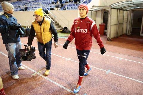 FOOTBONAUT: Tarik Elyounoussis klubb Hoffenheim har tatt i bruk en av fotballens nyvinninger.