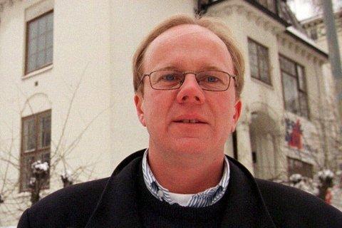 KANONSALG: Megler Odd Kalsnes i Privatmegleren har solgt egen bolig og innkassert 40 millioner kroner.