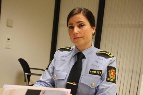 ALVORLIG: Politifullmektig Linn Eidissen sier politiet ser alvorlig på saken i lys av kvinnens stilling.